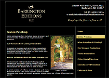Barrington Editions, LLC had PCS Web Design Revamp Their Website