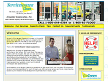 ServiceMaster by Disaster Associates launches new website designed by PCS Web Design