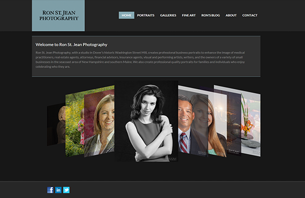 ron st jean photography cms enabled website designed by pcs web design web